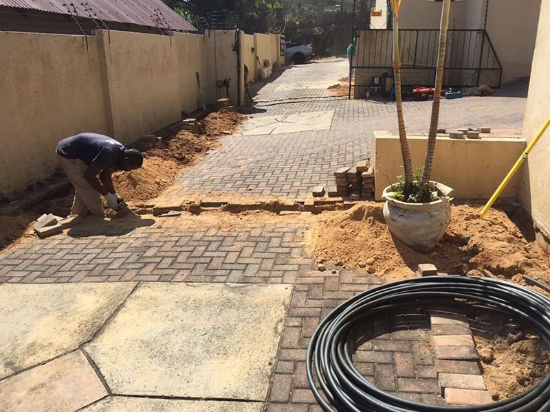 Main water line and drain maintenance