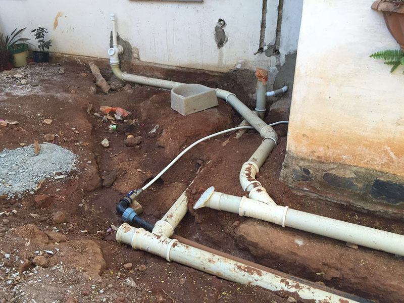 Main water Lines