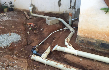 Water Line and Drains Maintenance